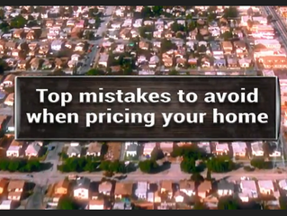 Top Mistakes to Avoid When Pricing Your Home