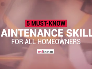 The 5 Maintenance Skills All Homeowners Should Know