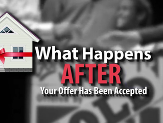Your Offer Was Accepted--What Happens Now?