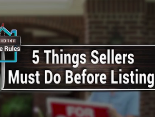 5 Crucial Things Sellers Should Do Before the 'For Sale' Sign Goes Up