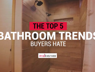 The Top 5 Bathroom Trends Buyers Hate