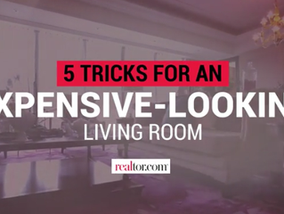 5 Secret Tricks to Make Your Living Room Look Luxe