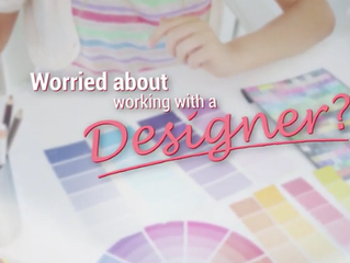 Worried about working with a designer?