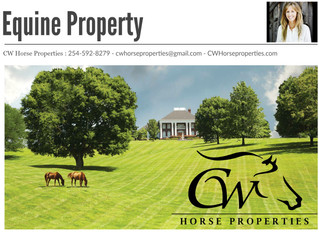 CW Horse Properties located in the Cowboy Capital of the World