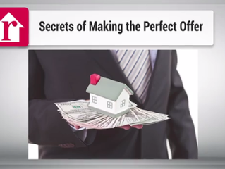 Secrets of making the perfect offer