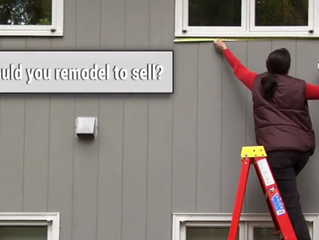 Do you need to remodel before you sell?