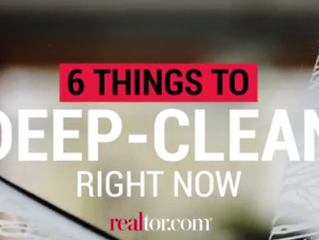 6 Spots in Your Home That Need a Deep Clean Right Away