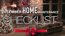 December Home Maintenance Checklist