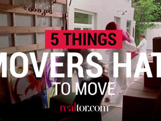 5 Things Movers Hate To Move
