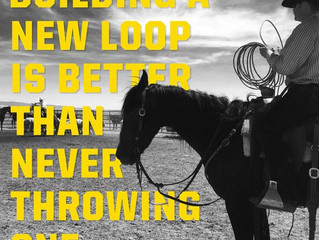 Building a new loop is better than never throwing one.