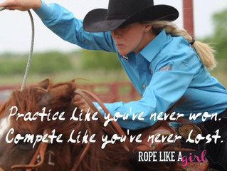 Practice like you've never won.  Compete like you've never lost.