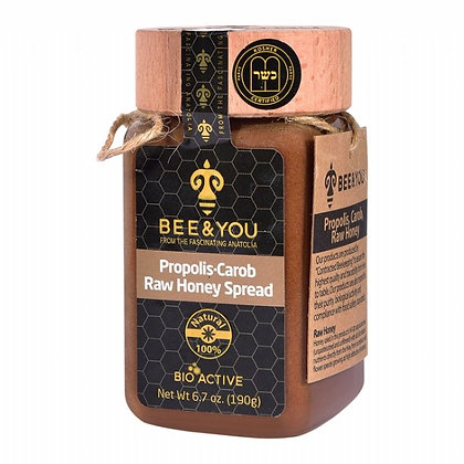Propolis Carob Raw Honey