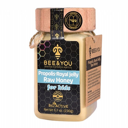 Propolis Royal Jelly Raw Honey (for kids)
