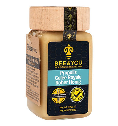 Propolis Gelée Royal Roher Honig (Bienenmilch/Arisütü)