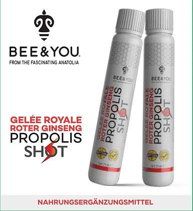 Gelée Royale - Roter Ginseng - Propolis Shot