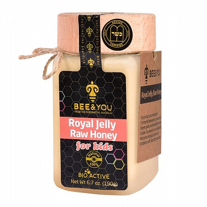 Royal Jelly Raw Honey (for kids) 190g