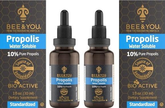 Sparpaket - 10% Propolis Extrakt wasserlöslich