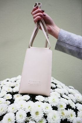 PHONE POUCH BEIGE