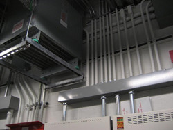 Electrical Room Pipework