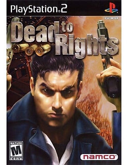 USADO - DEAD TO RIGHTS PS2
