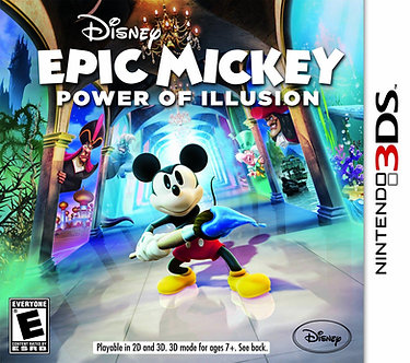 USADO - EPIC MICKEY POWER OF ILLUSION 3DS