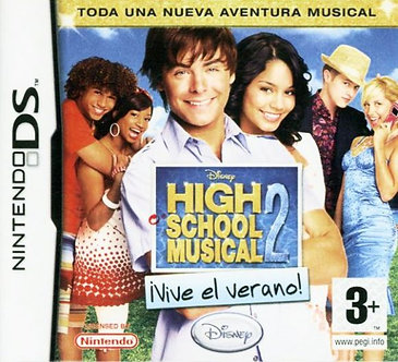 USADO - HIGH SCHOOL MUSICAL 2 WORK THIS OUT DS