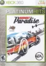 USADO - BURNOUT PARADISE  XBOX 360