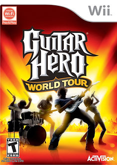 USADO - GUITAR HERO WORLD TOUR WII