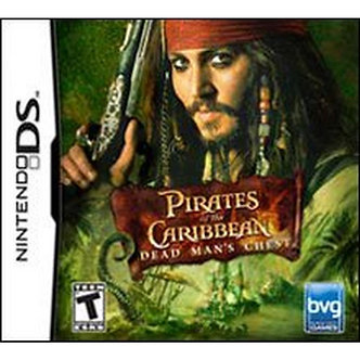 USADO - PIRATES OF THE CARIBBEAN DEAD MAN'S CHEST DS