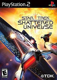 USADO - STAR TREK SHATTERED UNIVERSE PS2