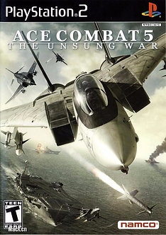 USASDO - ACE COMBAT 5 THE UNSUNG WAR PS2