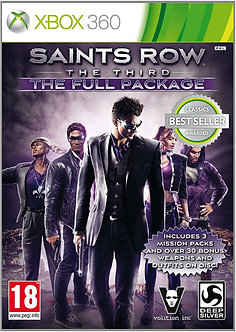 USADO - Saint's Row the third XBOX 360