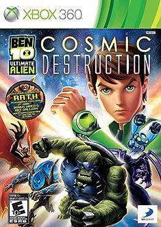 USADO - BEN 10 COSMIC DESTRUCTION XBOX 360