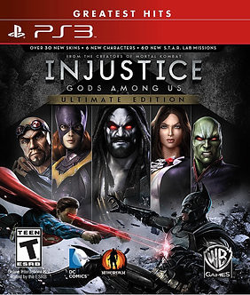 NUEVO - INJUSTICE ULTIMATE EDITION PS3