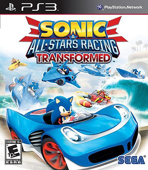 NUEVO - SONIC ALL STAR RACING TRANSFORMED PS3