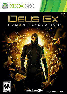 USADO - DEUS EX HUMAN REVOLUTION XBOX 360