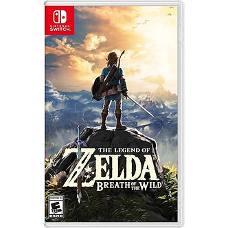 NUEVO - The Legend Of Zelda Breath Of The Wild Nintendo Switch