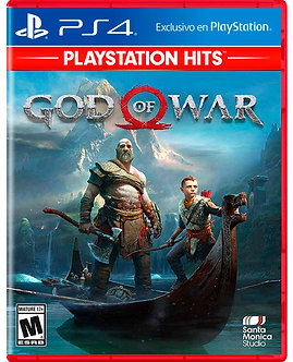 NUEVO - God Of War Ps4