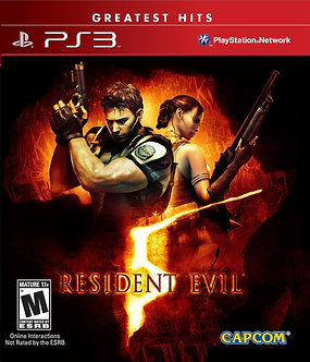 NUEVO - RESIDENT EVIL 5 GOLD EDITION PS3