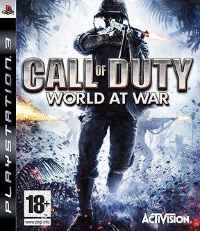 USADO - CALL OF DUTY WORLD AT WAR PS3