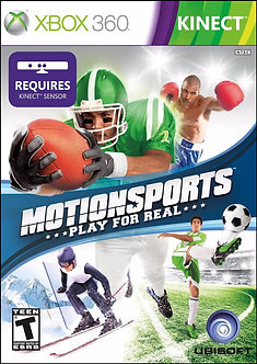 USADO - MOTIONSPORTS PLAY FOR REAL XBOX 360