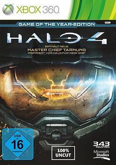 USADO - HALO 4 GAME OF THE YEAR EDITION XBOX 360