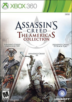 NUEVO - ASSASSIN´S CREED AMERICAS CELLECTION 360