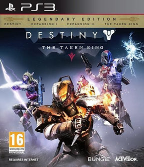NUEVO - Destiny The Taken King PS3