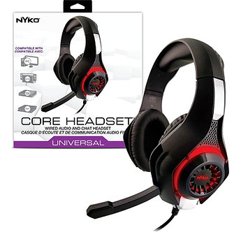 NUEVO - Core Headset Nyko Diadema