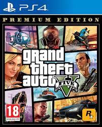 NUEVO - GRAND THEFT AUTO V PREMIUM EDITION PS4