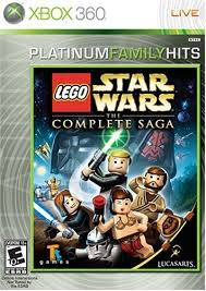USADO - LEGO STAR WARS THE COMPLETE SAGA X360