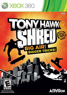 USADO - TONY HAWK SHRED BIG AIR X360