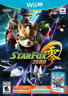 NUEVO - STAR FOX ZERO WII U
