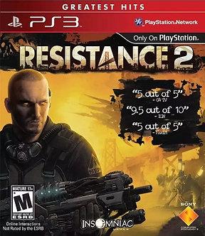 USADO - RESISTANCE 2 PS3